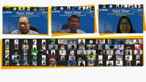 KULIAH UMUM MAHASISWA BARU SOLUSI MEMPERKUAT EKONOMI BANGSA PLATFORM MEDIA BARU DALAM DUNIA PENYIARAN
